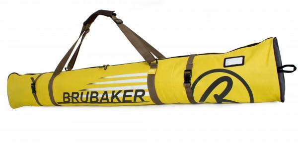 BRUBAKER Skitasche Carver Champion gepolsterter Skisack für 1 Paar Ski und Stöcke
