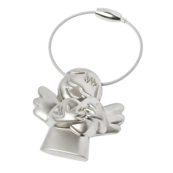 """BRUBAKER Schlüsselanhänger Schutzengel """"Ich hab dich lieb"""" in hübscher Geschenkbox"""