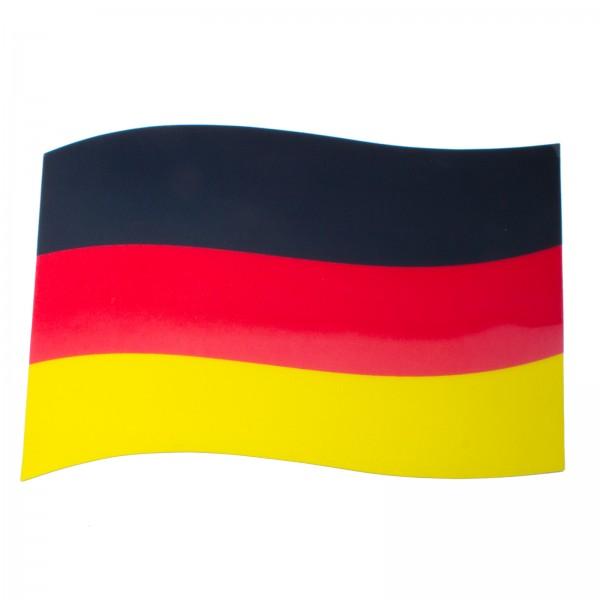 BRUBAKER Auto Magnetflagge Deutschland mit 3D-Effekt