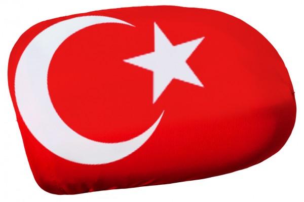 BRUBAKER Außenspiegelflagge Türkei Spiegelflagge im 2er Set